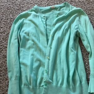 JCrew three quarter length sleeve cardigan